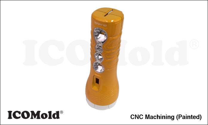 Custom Machined Flashlight Body