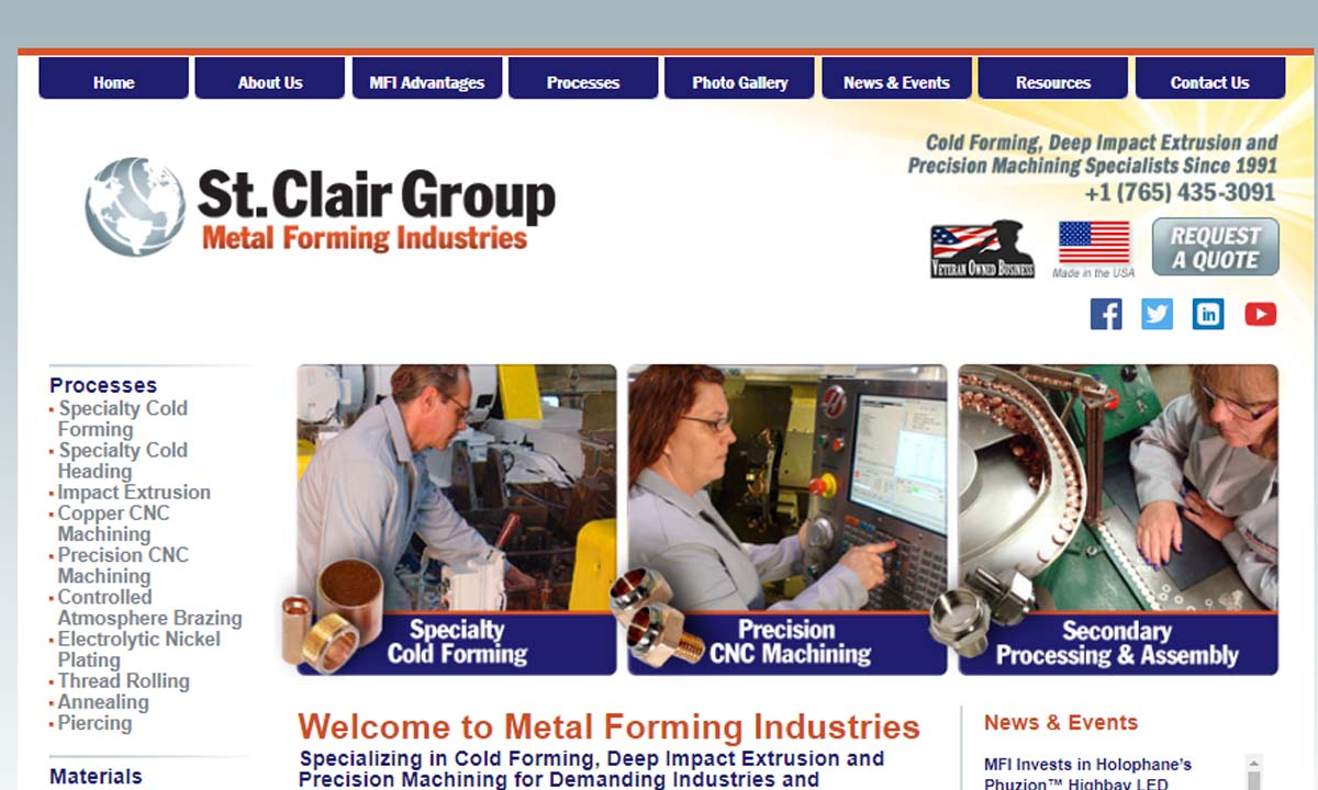 Metal Forming Industries