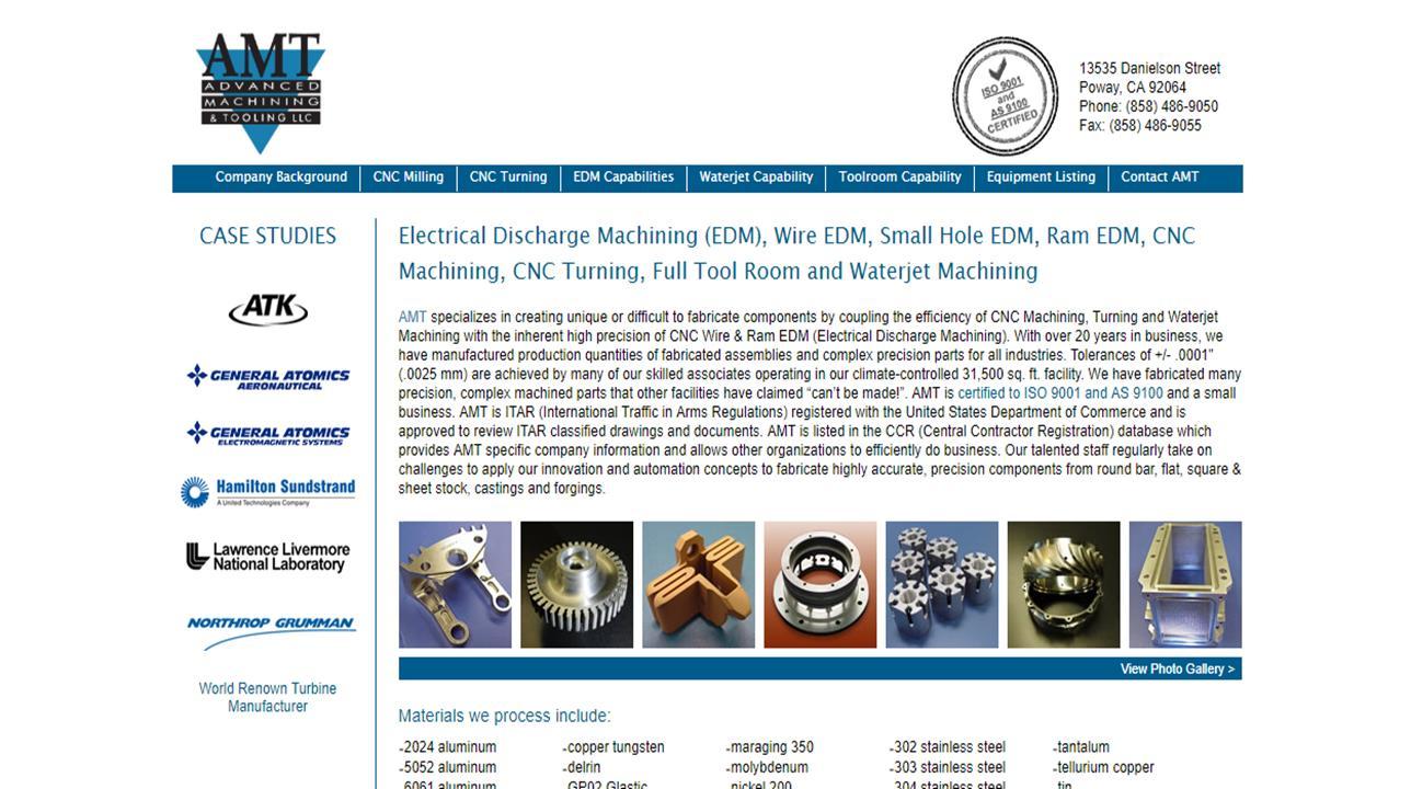 Advanced Machining & Tooling, Inc.