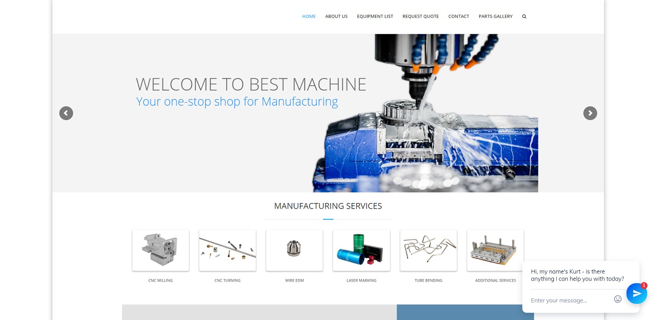 Best Machine Inc