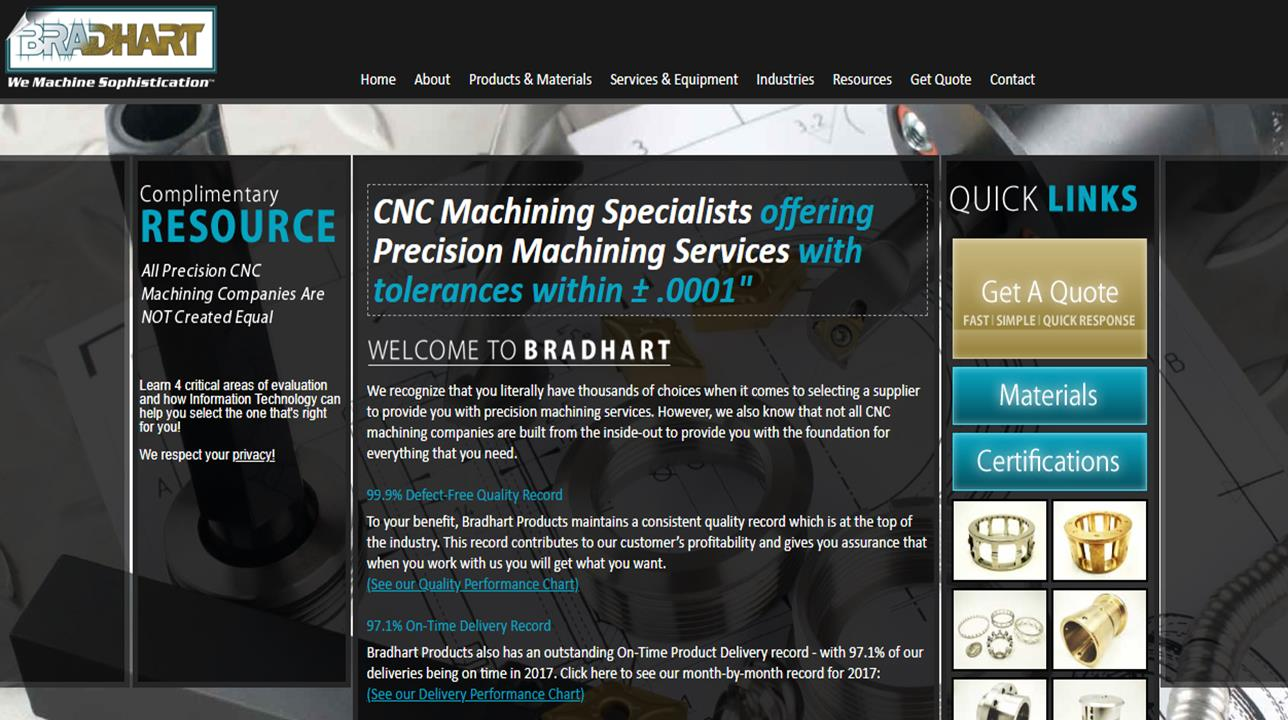 Bradhart Products, Inc.
