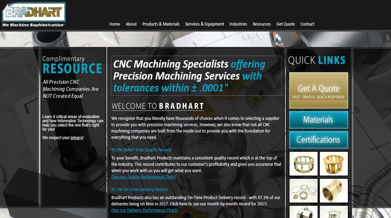Bradhart Products, Inc.