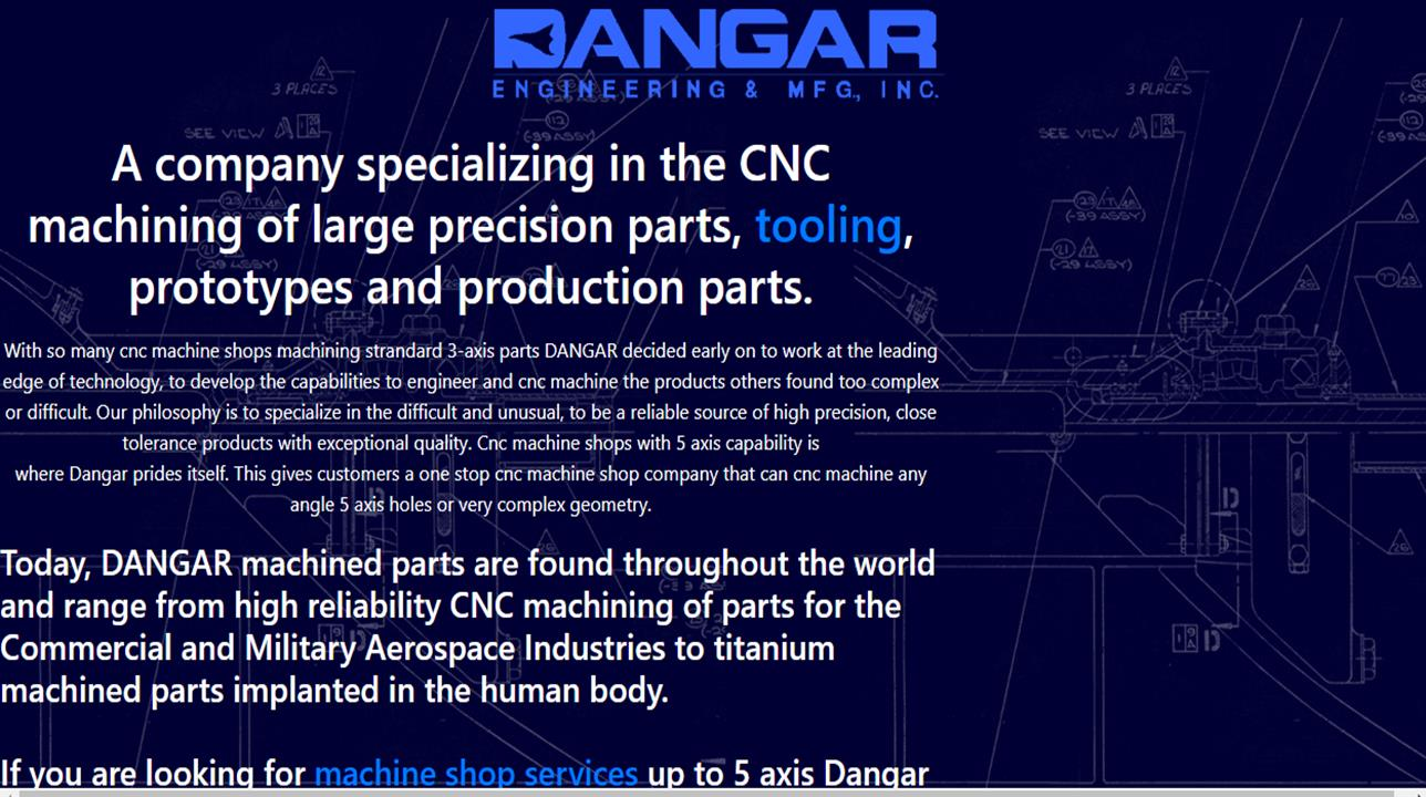 Dangar Engineering & Mfg., Inc.