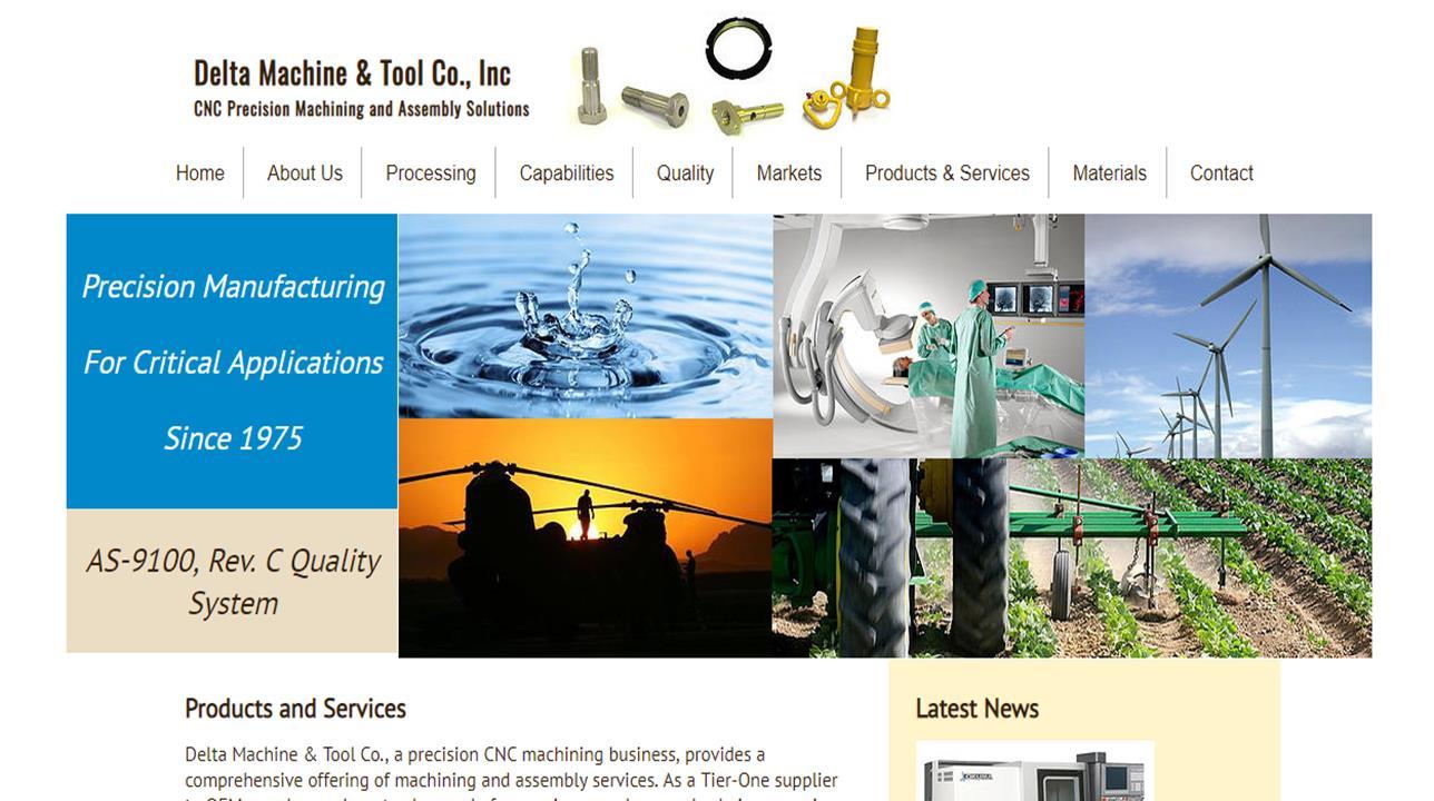 Delta Machine & Tool Co., Inc.