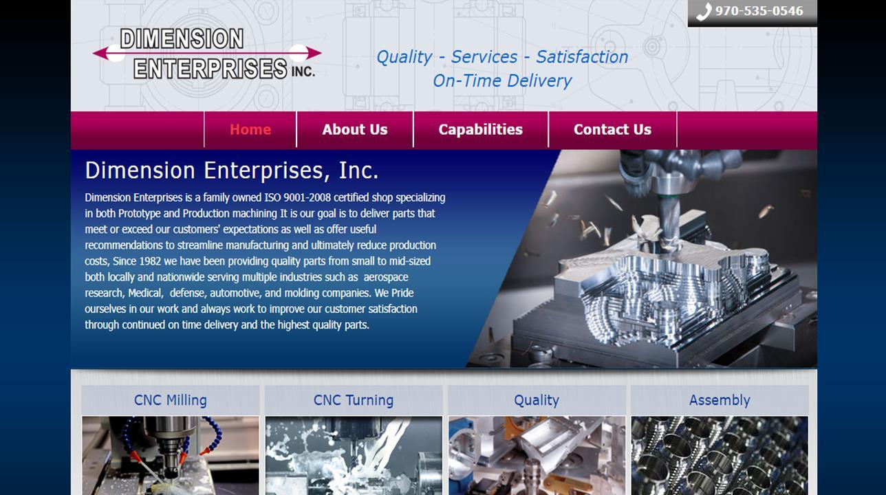 Dimension Enterprises, Inc.