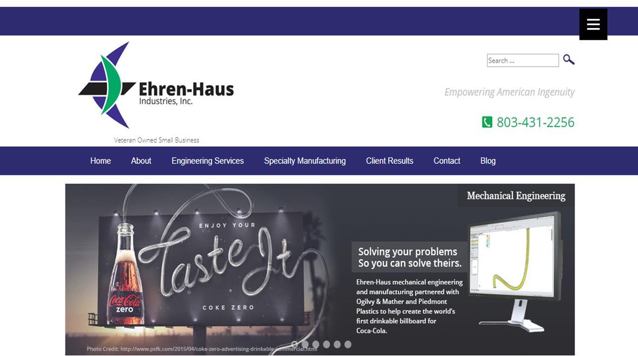 Ehren-Haus Industries, Inc.