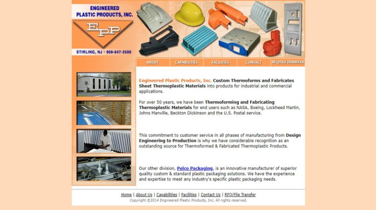 Engineered Plastic Products, Inc.
