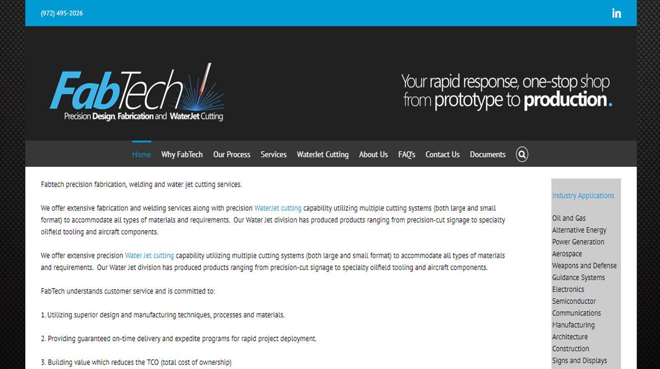 FabTech Services, Inc.