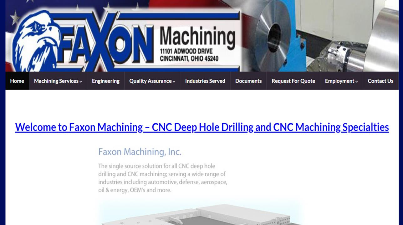 Faxon Machining, Inc.