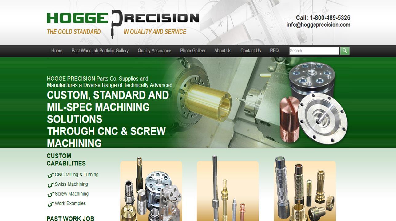 Hogge Precision Parts Co., Inc.
