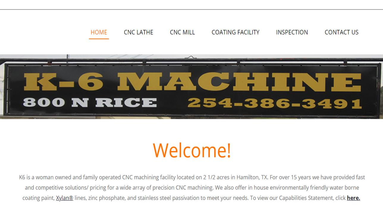 K-6 Machine, Inc.