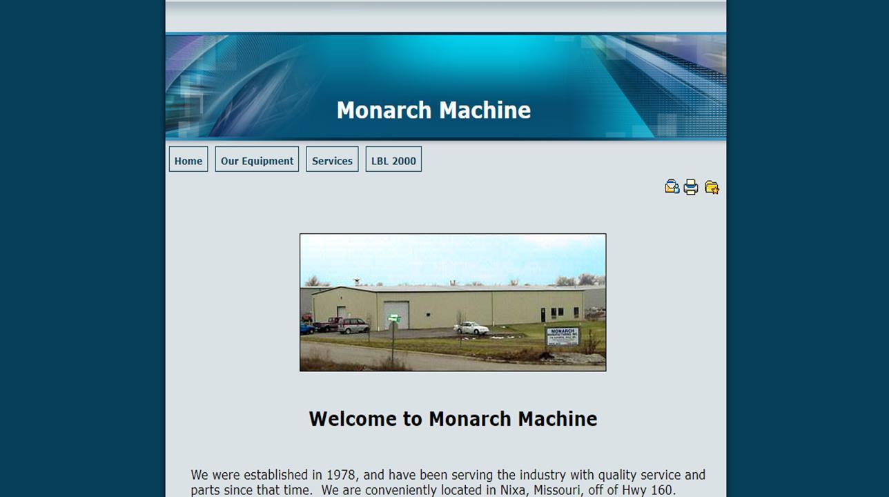 Monarch Manufacturing Inc.