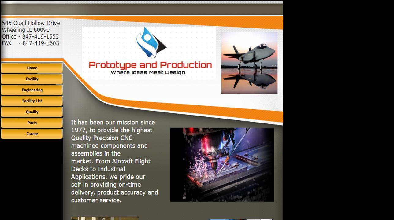 Prototype & Production Co. Inc.