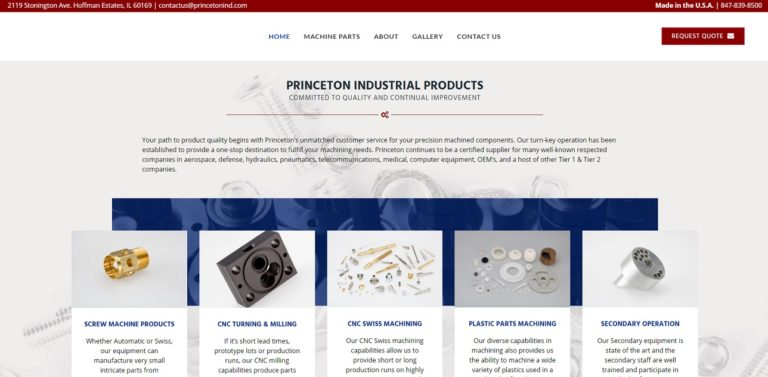 Princeton Industrial Products, Inc.