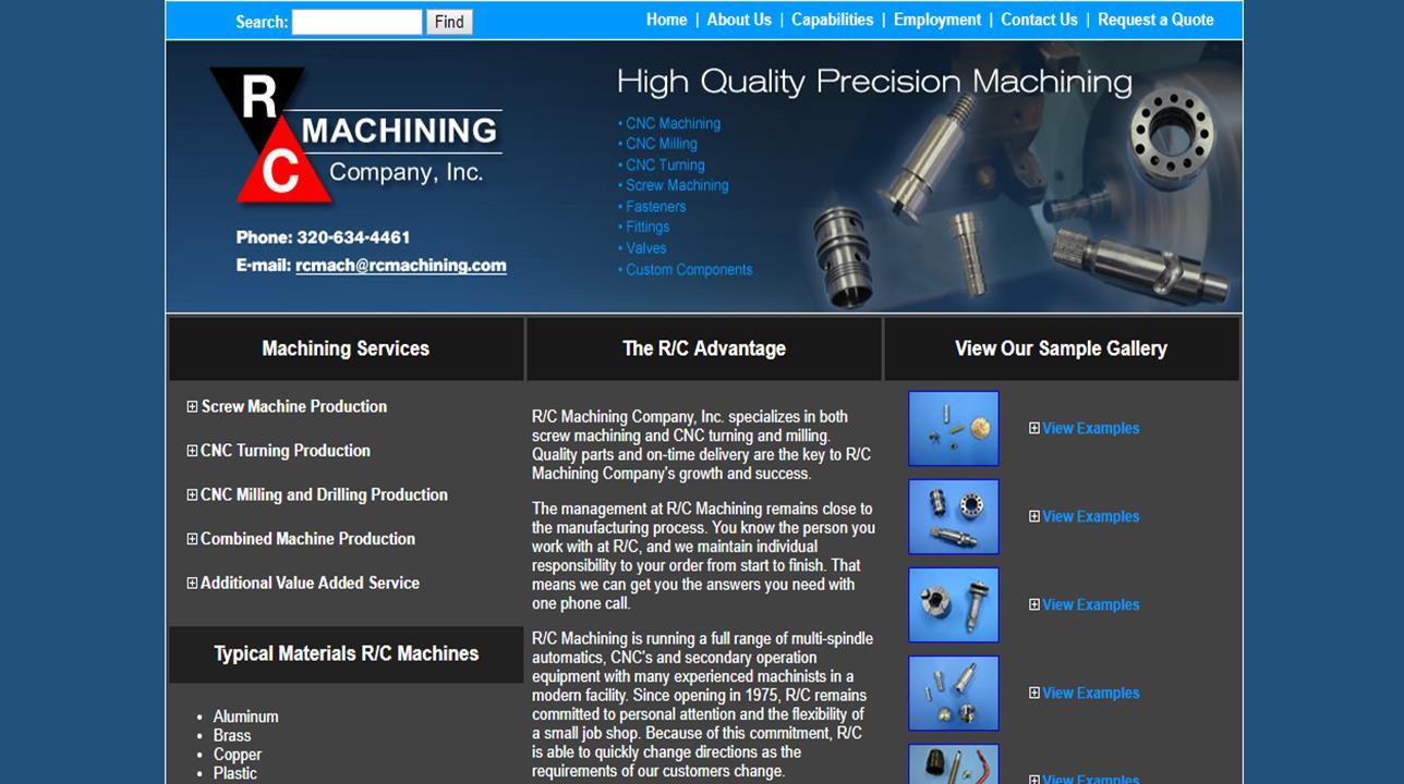 R/C Machining Company, Inc.