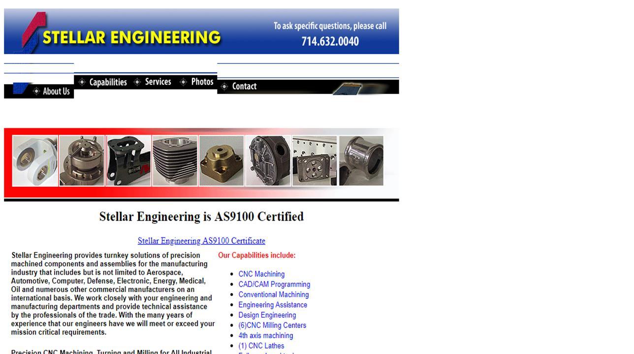 Stellar Engineering Inc.