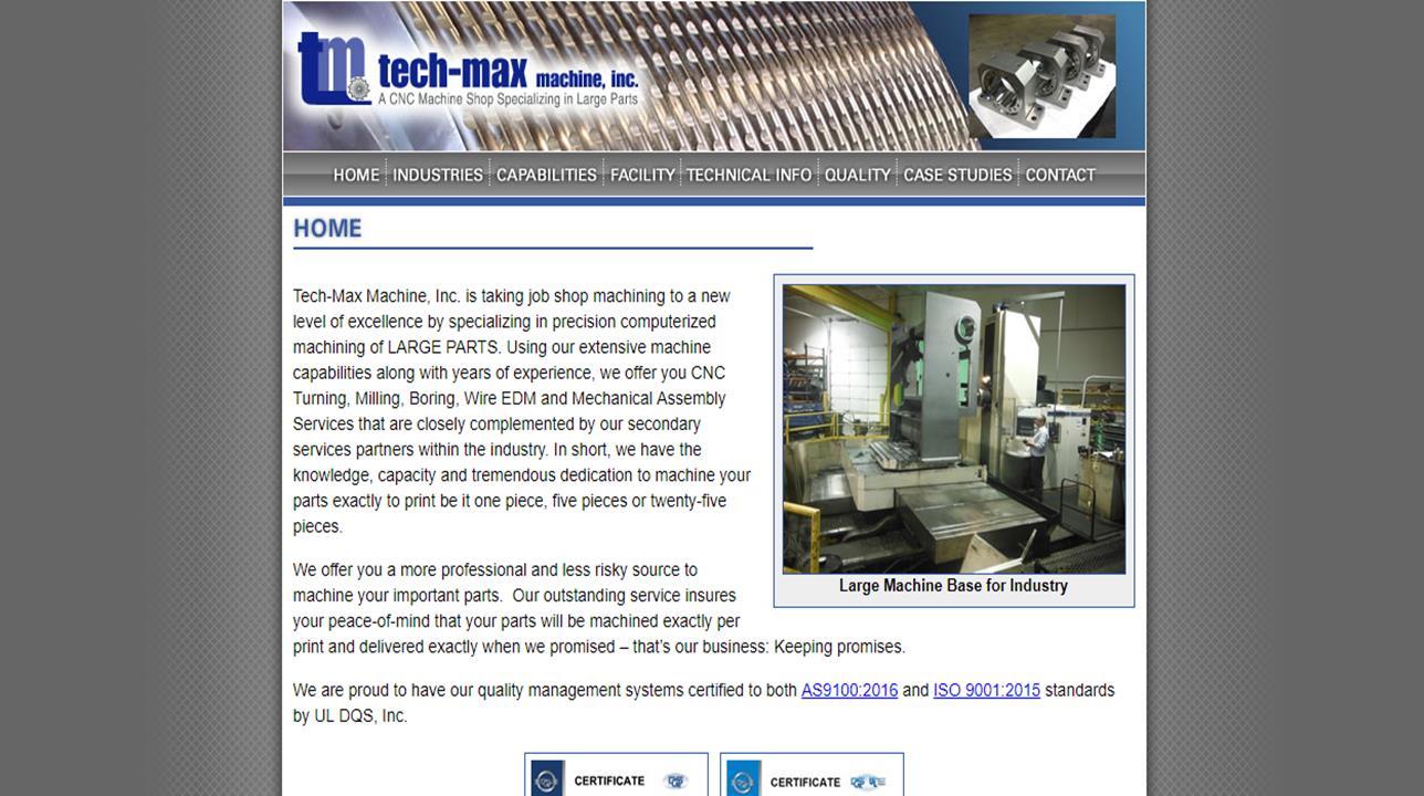 Tech-Max Machine & Mfg., Inc.