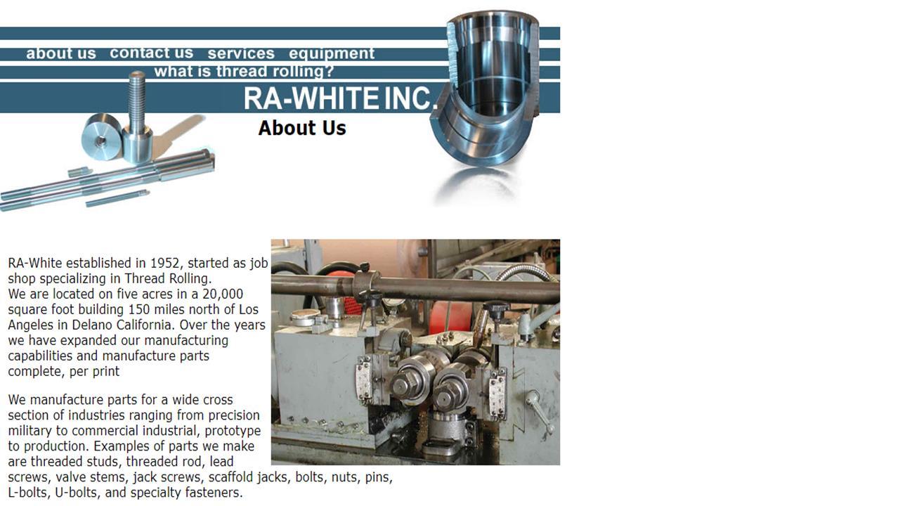 RA-White, Inc.