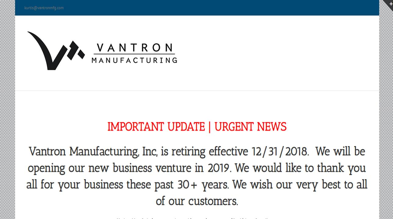 Vantron Engineering, Inc.