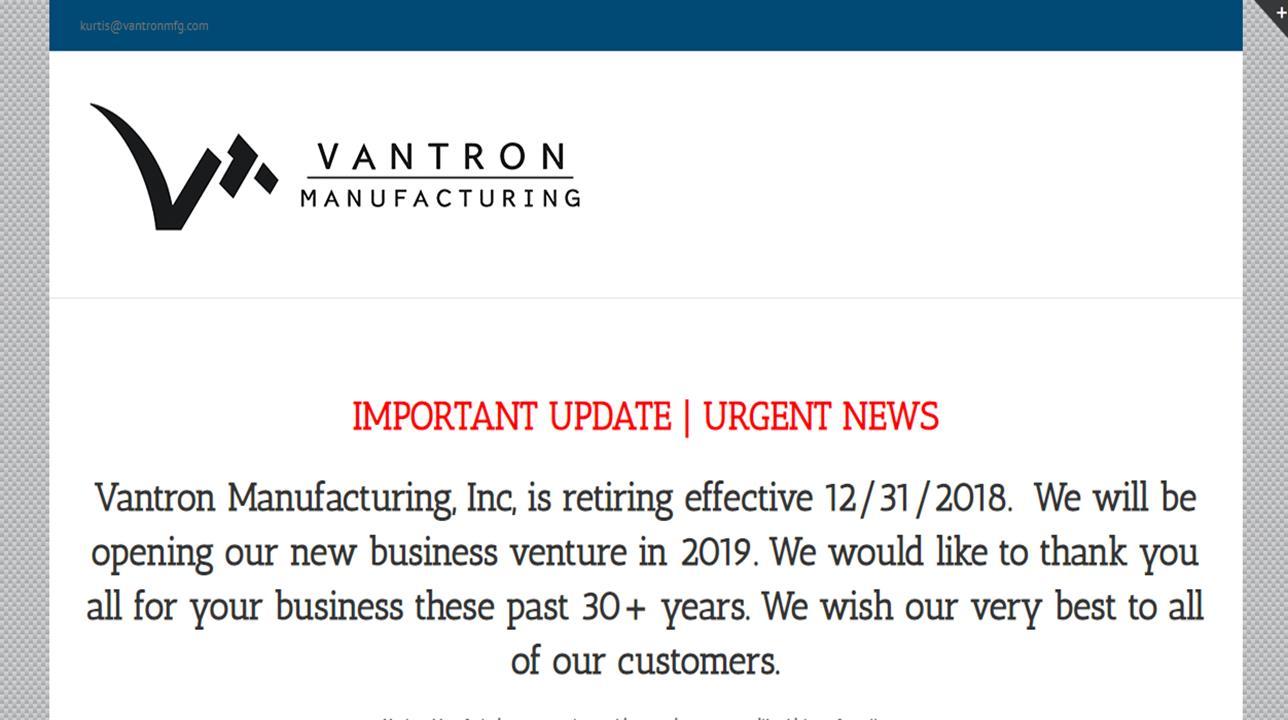 Vantron Engineering, Inc.