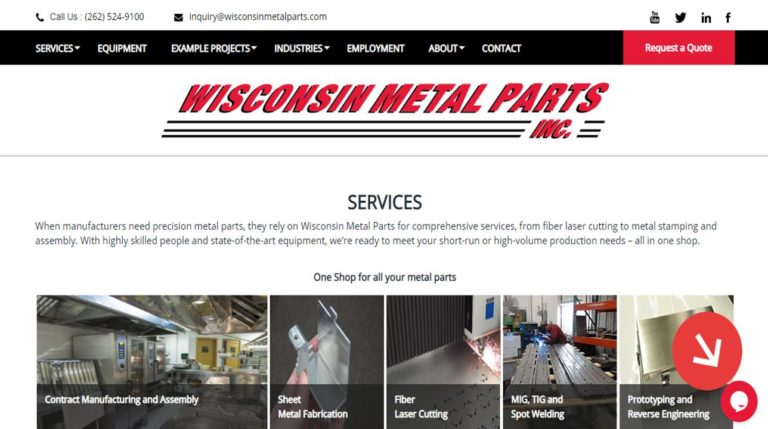 Wisconsin Metal Parts, Inc.