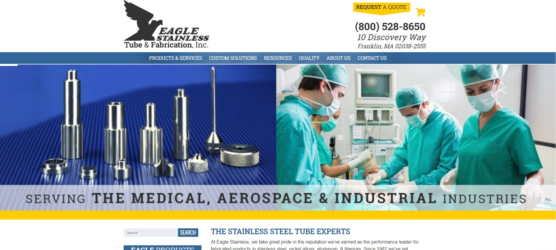 Eagle Stainless Tube & Fabrication Inc.