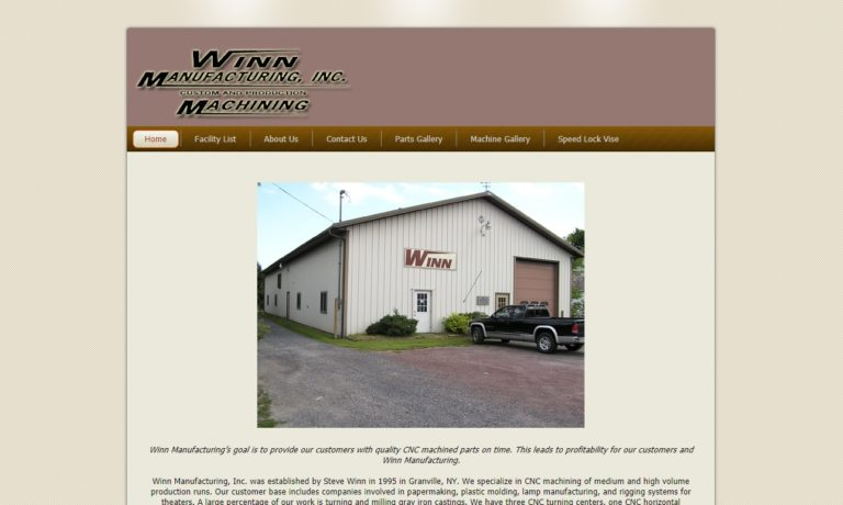 Winn Manufacturing, Inc.